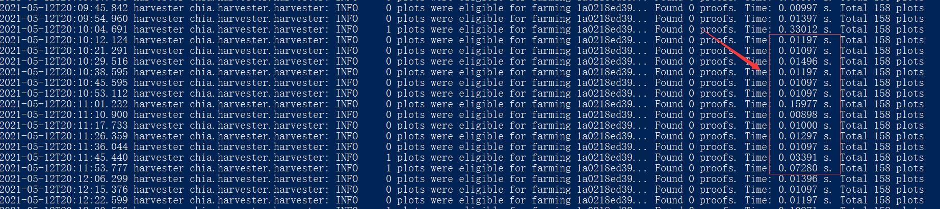 出现了影响爆块的问题,GUI界面不会给你任何提示